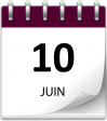 Save the date 10 juin violet grand 1
