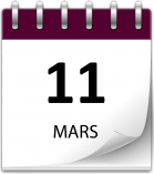 Save the date 11 mars violet grand 1
