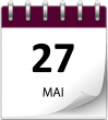 Save the date 27 mai violet 2
